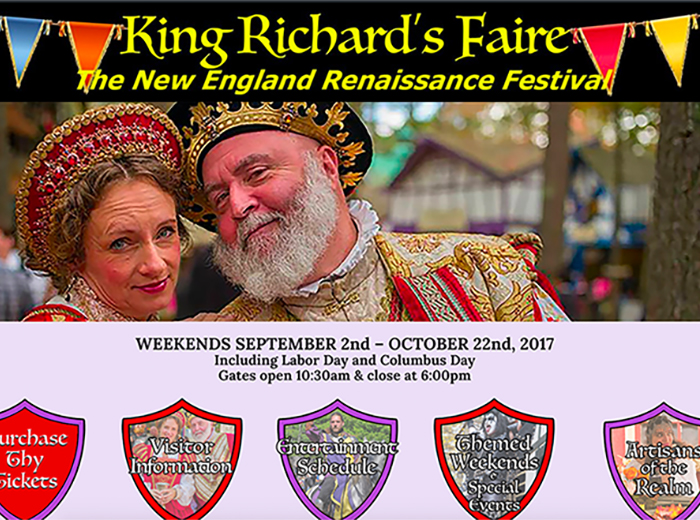 King Richard's New England Renaissance Festival, Carver MA