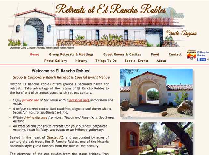 El Rancho Robles, Oracle AZ