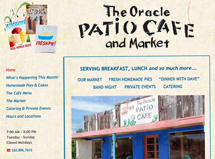 Oracle Patio Cafe and Market, Oracle AZ