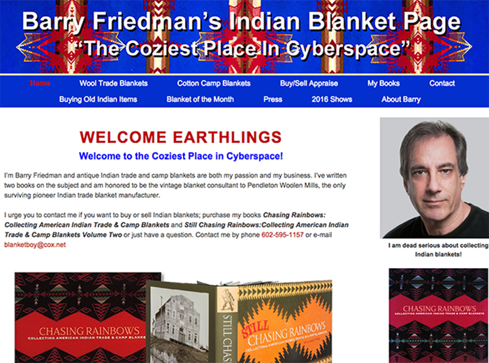 Barry Friedman's Indian Blankets, Phoenix AZ