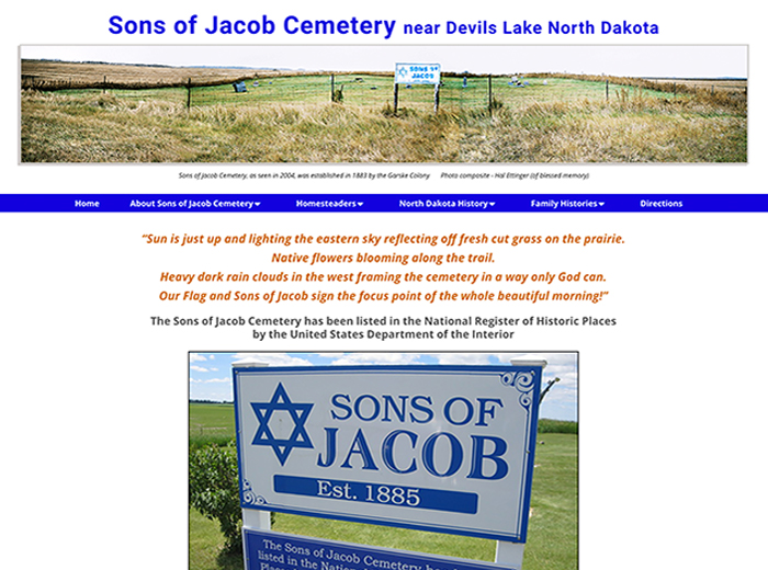 Sons of Jacob Cemetery, Devils Lake ND