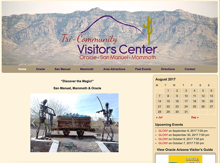 Tri-Community Visitors Center, Oracle AZ