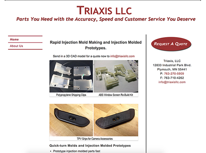 Triaxis LLC, Plymouth, MN