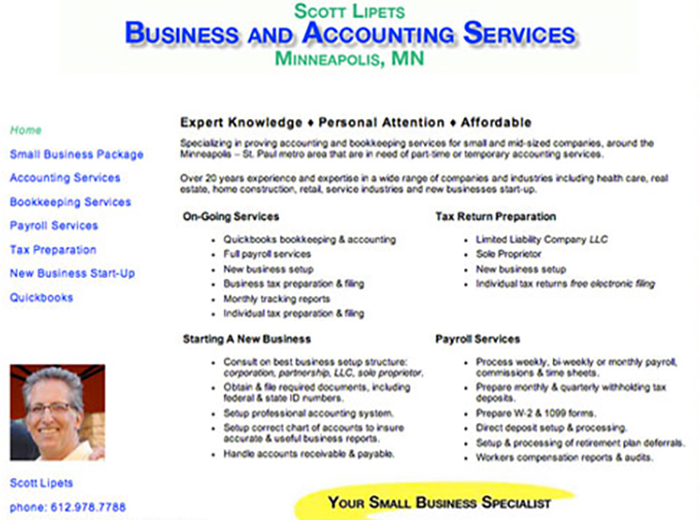 Business & Accounting Services, Minneapolis MN